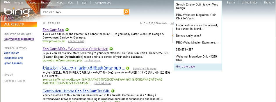 Microsoft Bing Making a Bang? | E-Commerce for All